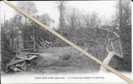 Tessy Sur Vire - A Travers Les Degats Du Cyclone  -non Circulé - Autres Communes