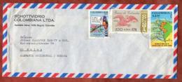 Luftpost, UPU U.a., Bogota Nach Mainz 1974 (79804) - Colombie