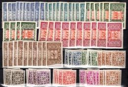 Monaco Timbres Taxe YT N° 29/39, Dix Séries Neufs **/*. TB. A Saisir! - Impuesto