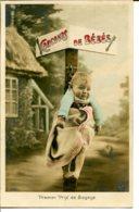Concours De Bébés - Premier Prix De Sagesse - Au Dos, Logo De La Marque Croissant - Neonati