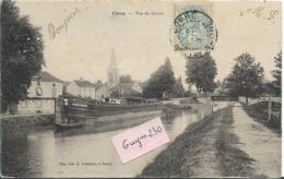 CORRE  Vue Du Canal ( Péniche) - France
