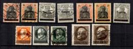 Sarre Belle Petite Collection De Bonnes Valeurs 1920. B/TB. A Saisir! - Saargebiet