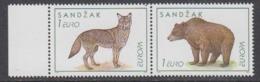 Europa Cept 1999 Sandzak 2v ** Mnh (44828F) PRIVATE ISSUE / Promotion - Europa-CEPT