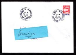 976 MAYOTTE Seul Sur Lettre Au Tarif Timbre EURO Surcharge  MAMOUDZOU 16-10-1999  TTB  2 Scan - Lettres & Documents
