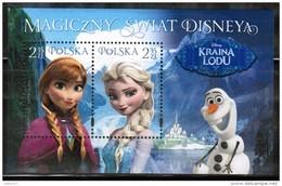 PL 2015 MI BL 239 The Magical World Of Disney - Ice Land - Blocs & Hojas
