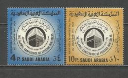 ARABIA SAUDITA YVERT NUM. 321/322 ** SERIE COMPLETA SIN FIJASELLOS - Arabia Saudita