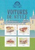 Automobiles De Légendes, 3 Blocs , 12 Timbres Collectors, 12 Cartes Postales (voir Les 8 Scans) - France