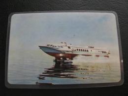 USSR Soviet Russia  Pocket Calendar Sudoimport  Ship 1970 Rare - Calendriers