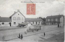 18 - CHER  - EN BERRY - CHATEAUMEILLANT  - Les écoles 1908 - Châteaumeillant