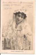 L100E286 - Portrait De Femme - Lola Membrives - Cliché Armengol - Carte Précurseur - Donne