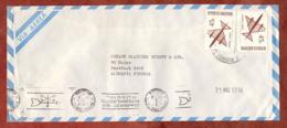 Luftpost, Freimarken, MS Meteorologico Mundial Buenos Aires, Nach Mainz 1972 (79809) - Storia Postale