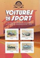 Automobiles De Légende, Voitures De Sport, Bloc De 4 Timbres Collector Neuf** - France