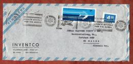 Luftpost, Aerolineas Argentinas U.a., MS Service Aeropostal, Buenos Aires Nach Mainz 1976 (79810) - Argentina