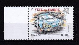 Fête Du Timbre 2018 Renault Alpine A 110 - France