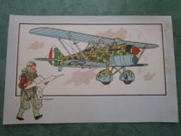 """Collection Du CHEQUE TINTIN - Voir Et Savoir - AVIATION Guerre 1939-1945-Série 10 - N°2 FIAT CR-42 """"FALCO"""" 1935 - Chromos"""