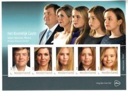 Nederland 2019 Persoonlijke Zegel, PostNl, Koninklijke Gezin Met Willen-Alexander, Maxima, Amalia, Alexia, Ariane - Neufs