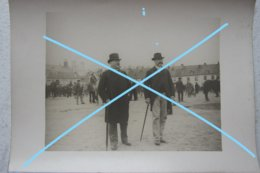 Photo SAINT OMER Marché Aux Chevaux Cheval Paard Horse Market Vers 1900 - Lieux