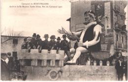 FR34 MONTPELLIER - Carnaval - Sa Majesté Barbe Bleue - Roi Carnaval 1922 - Animée - Belle - Carnevale