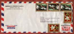 Luftpost, Souveraenitaet U.a., Tegucigalpa Nach Mainz 1976 (79813) - Honduras