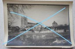 Photo SAINT OMER Quartier De L'église Vielles Maisons Vers 1900 - Lieux