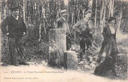 (90) Réchésy - La Triple Frontière : France Suisse Alsace - 1918 - France