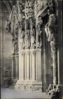 Cp Santiago De Compostela Galicien Spanien, Catedral, Portico De La Gloria - Spanje