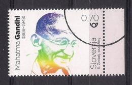 ESLOVENIA 2019 - MAHATMA GANDHI - SELLO NUEVO TIMBRADO DE FAVOR (VALOR FACIAL) - Mahatma Gandhi