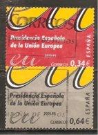 España/Spain - (usado) - Edifil  4547-48 - Yvert 4191-92 (o) - 1931-Hoy: 2ª República - ... Juan Carlos I