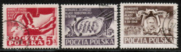 PL 1948 MI 505-07 USED - 1944-.... Republik