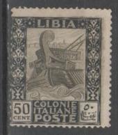 Libia 1921 - Pittorica 50 C. ( * )              (g5881) - Libyen
