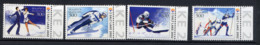 BIELORUSSIE BELARUS 2002, J.O. SALT LAKE, Ski, Patinage Artistique, 4 Valeurs, Neufs / Mint. R1749 - Inverno2002: Salt Lake City