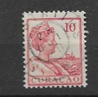 1915 USED Curaçao, NVPH 57 Stempel St Eustatius - Curaçao, Antilles Neérlandaises, Aruba