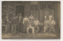 Angouleme - Café - Bieres - Billard - Carte Photo -  RARE - CPA° - Angouleme