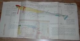 Carte Géologique Mine Mines Sondage De ROUILHOUSE- Saint Côme Aveyron - Planches & Plans Techniques