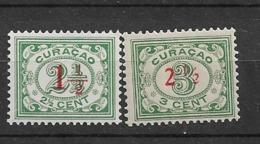 1931 MNH Curaçao NVPH 101-2  Postfris - Niederländische Antillen, Curaçao, Aruba
