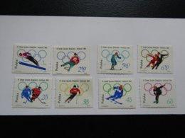 JO398  Olympiques Innsbruck Olympic 1964  Poland  Mi 1457-64  MNH - Winter 1964: Innsbruck
