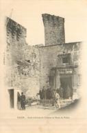 13 SALON DE PROVENCE  Porte D'entrée Du Château Et Poste De Police  2 Scans - Salon De Provence