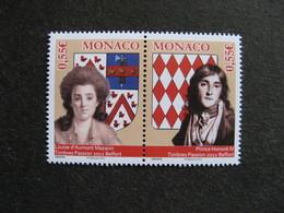 Monaco:  TB Paire  N°2847 Et 2848 , Neufs XX . - Neufs