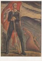 Deutsches Reich Postkarte Propaganda 1940 - Gebraucht