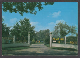 99998/ SAINT-AMAND-MONTROND, Camping De La Roche, L'entrée Du Terrain - Saint-Amand-Montrond