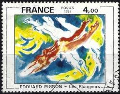 France 1981 - Mi 2286 - YT 2168  ( Painting By Edouard Pignon ) - Oblitérés
