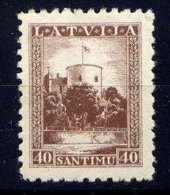 LETTONIE - 206* - CHATEAU DU PRESIDENT - Lettonie