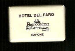 Saponetta Mini - Hotel Del Faro ( Pugnochiuso ) - Sapone - Soap - Seife - Jàbon - Du Savon - Perfume & Beauty