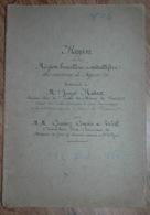 Rapport Région Houillère Et Métallifère Des Environs De Figeac Lot 1882 Mines Mine - Documents Historiques