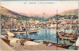 MONACO -LE PORT ET LA CONDAMINE 1918 - La Condamine