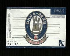 Etichetta - Birra Dana Brau - Birra