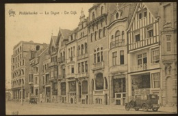 Middelkerke   Belles Maisons Sur La Digue    (Ed. STAR Expédiée En 1935  Joli Cachet Touristique ) - Middelkerke