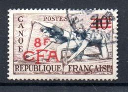 Réunion / N 314  /   8 F Sur 40 F    /  Oblitéré   / Côte 10 € - Oblitérés