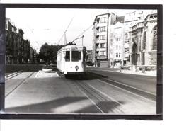 Photo Tram - Bruxelles - Molenbeek - Boul. Du Jubilé - Eglise Saint-Rémy (1958) - Molenbeek-St-Jean - St-Jans-Molenbeek
