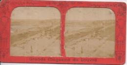 UKRAINE - Quais D'ODESSA - Carte Stéréo B.K. Paris Grands Magasins Du Louvre - 2 Scans - Ucrania